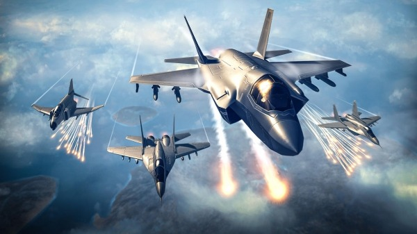 Sky Combat: War Planes Online Simulator PVP Android Game Image 2