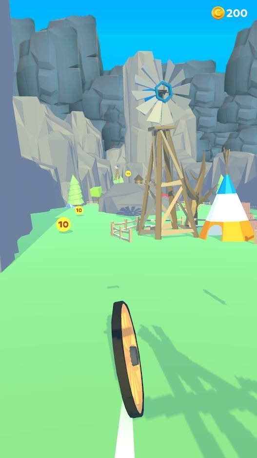 Wheel's Fall Android Game Image 1