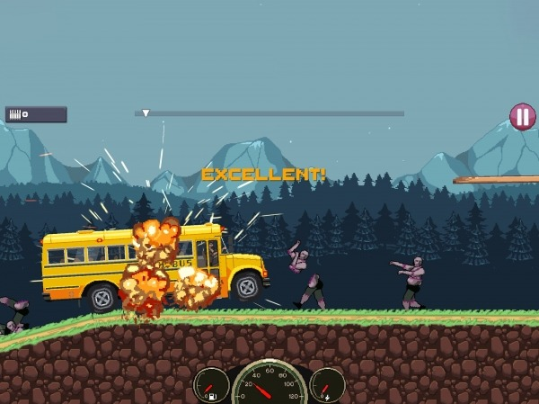 Drive Or Die - Zombie Pixel Earn To Racing Android Game Image 1