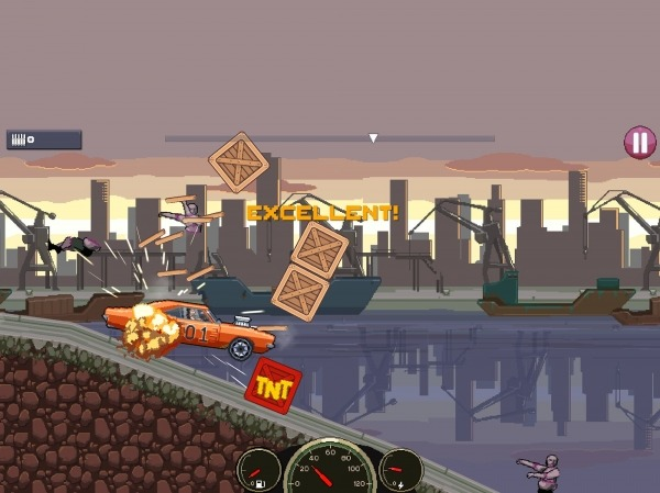 Drive Or Die - Zombie Pixel Earn To Racing Android Game Image 2