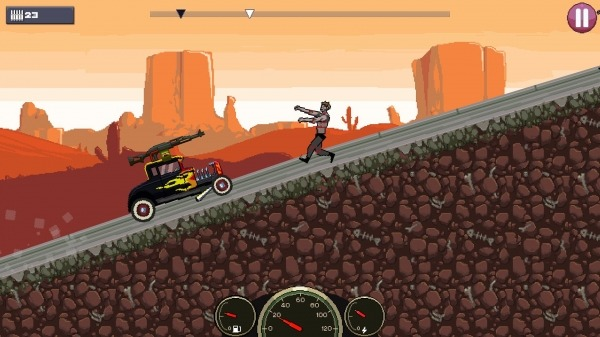 Drive Or Die - Zombie Pixel Earn To Racing Android Game Image 3