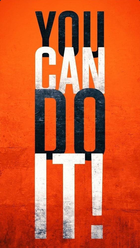 You Can Do It Mobile Phone Wallpaper Image 1