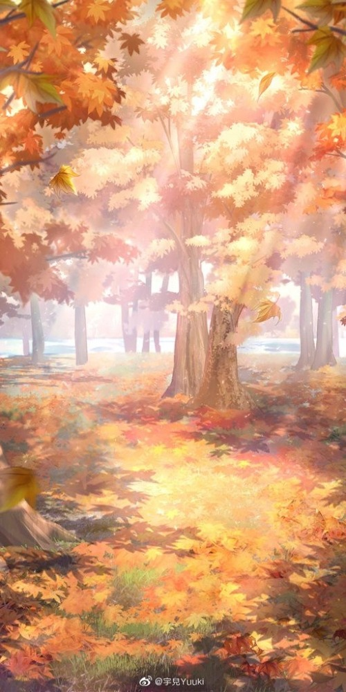 Autumn Mobile Phone Wallpaper Image 1