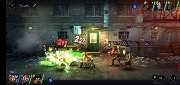 Battle Night: Cyber Squad-Idle RPG Android Game Image 1