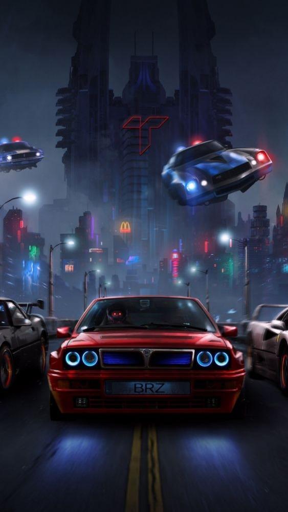Racer Mobile Phone Wallpaper Image 1