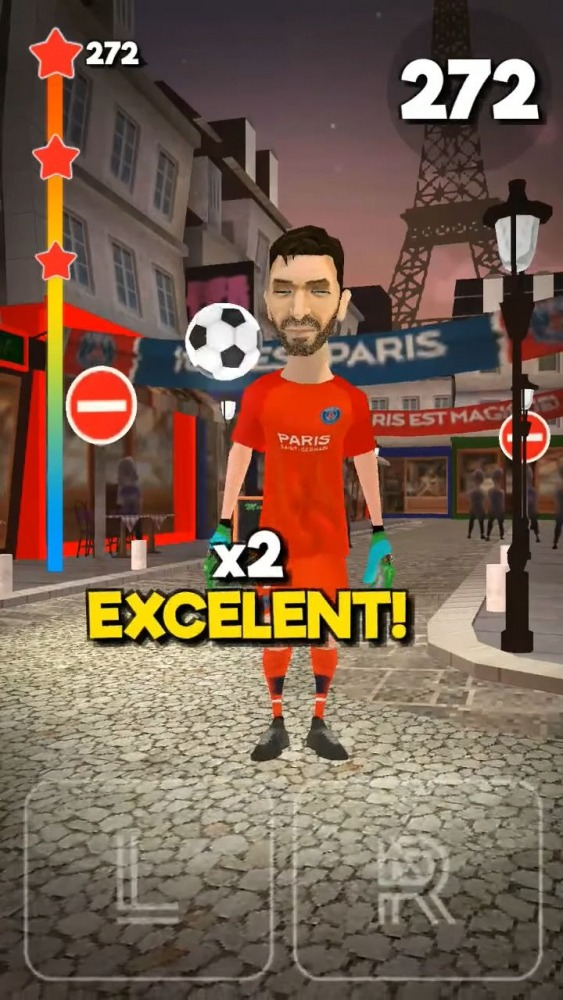 PSG Soccer Freestyle Android Game Image 2