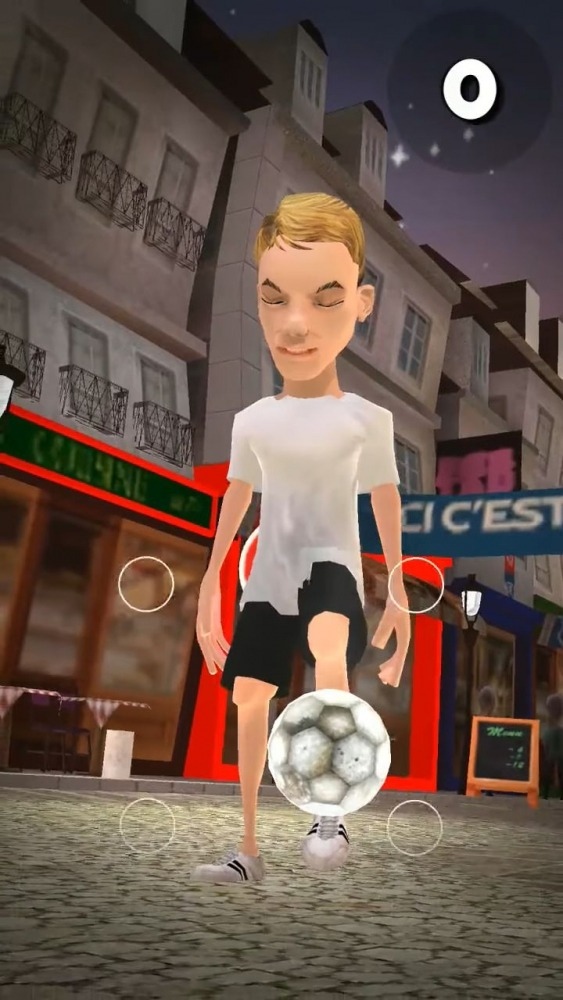 PSG Soccer Freestyle Android Game Image 3