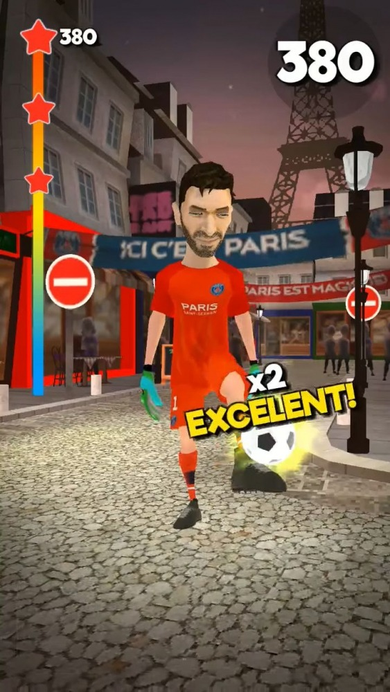 PSG Soccer Freestyle Android Game Image 4