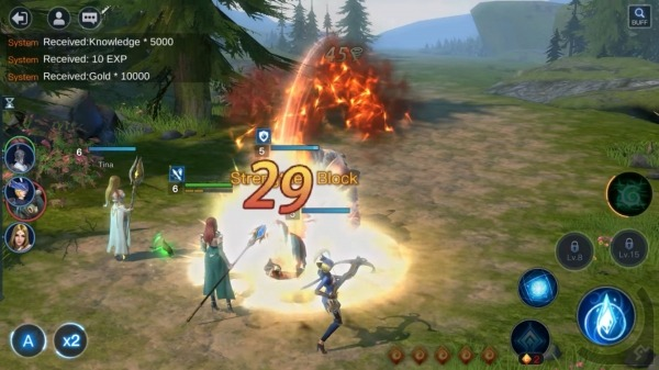 Wartune Mobile - Epic Magic SRPG Android Game Image 4