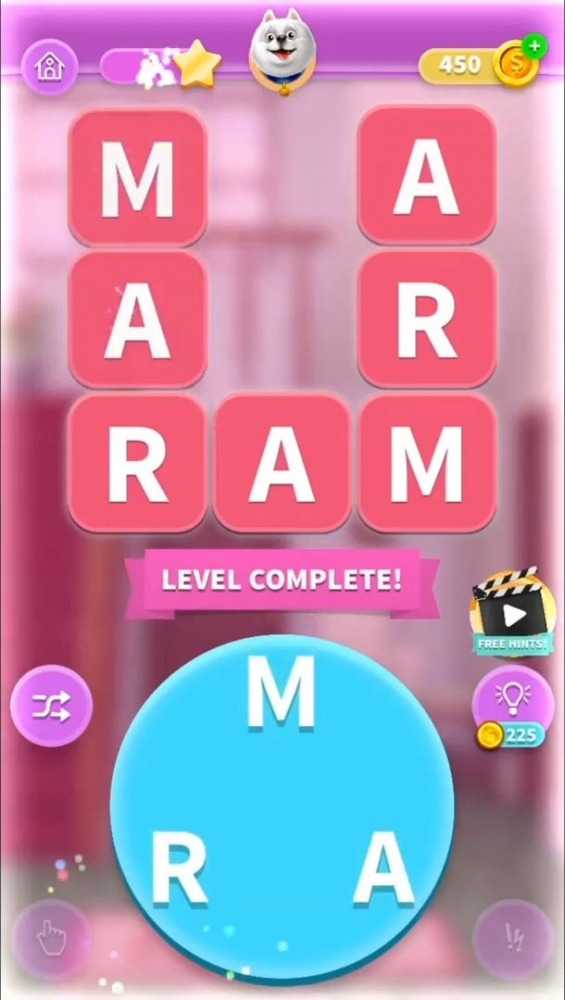 Word Mansion Android Game Image 4
