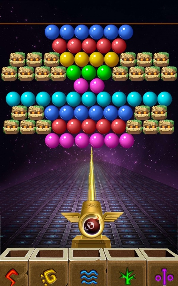 Bubble Shooter Android Game Image 4