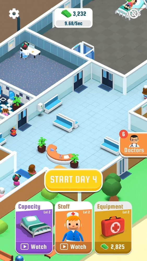 Hospital Inc. Android Game Image 1