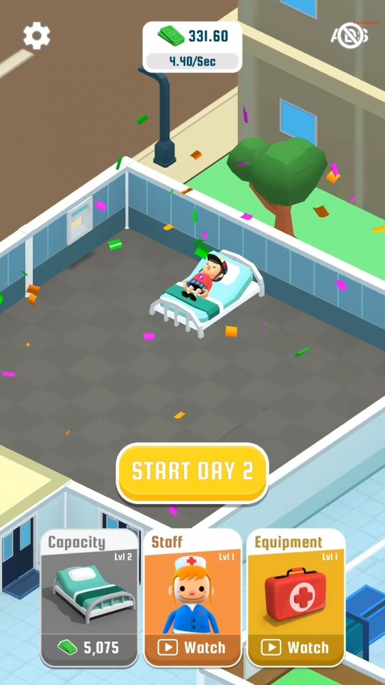 Hospital Inc. Android Game Image 3