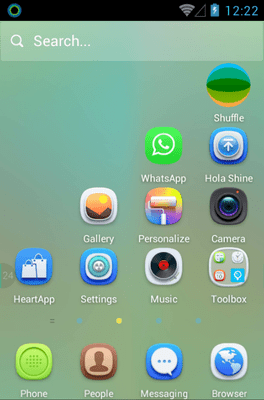 Light Breeze Hola Launcher Android Theme Image 2