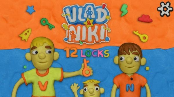 Vlad & Niki 12 Locks Android Game Image 1