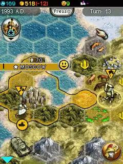 Sid Meier's Civilization V: The Mobile Game Java Game Image 3
