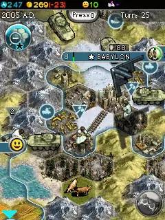 Sid Meier's Civilization V: The Mobile Game Java Game Image 4