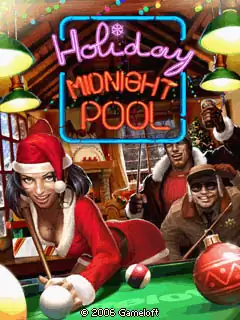 Holiday Midnight Pool Java Game Image 1