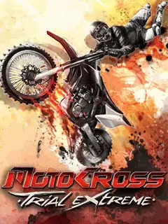 Motocross Trial Extreme Java Game Image 1