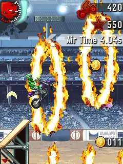 Motocross Trial Extreme Java Game Image 2