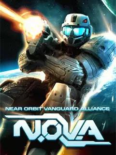 N.O.V.A. Near Orbit Vanguard Alliance Java Game Image 1
