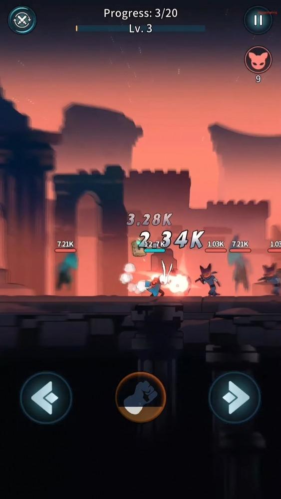 Bangbang Rabbit! Android Game Image 2