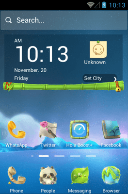 Looking For A Dream Hola Launcher Android Theme Image 1