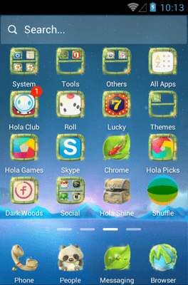 Looking For A Dream Hola Launcher Android Theme Image 2