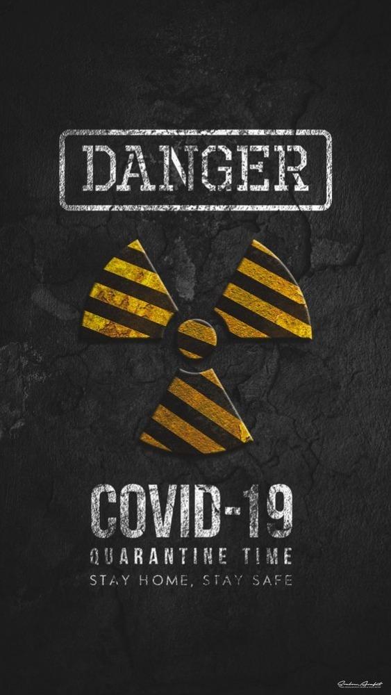 Danger Mobile Phone Wallpaper Image 1
