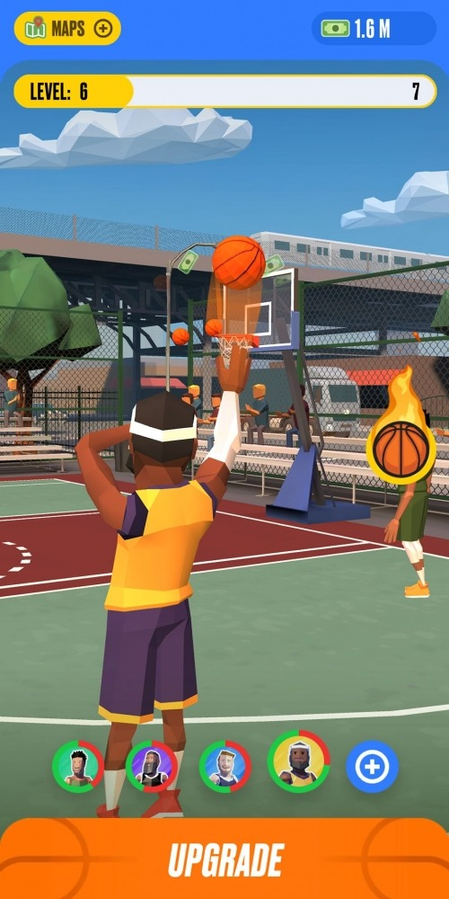 Basketball Idle Android Game Image 1
