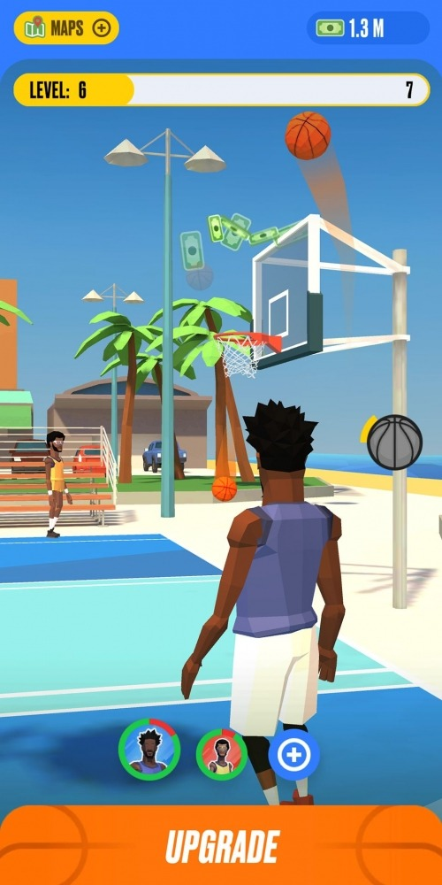 Basketball Idle Android Game Image 2