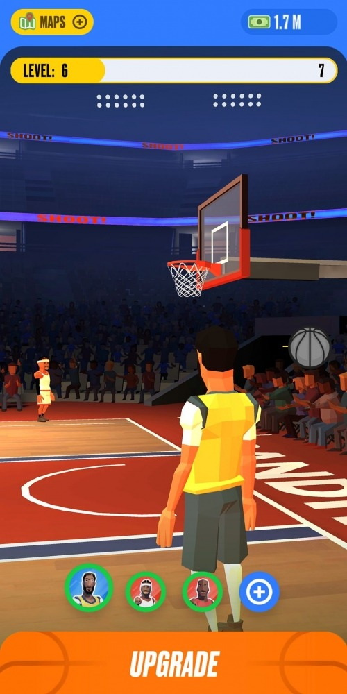 Basketball Idle Android Game Image 4