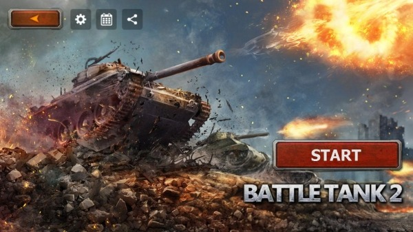 Battle Tank2 Android Game Image 1