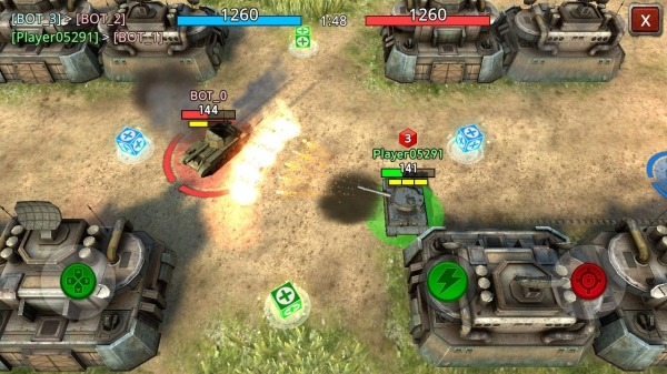 Battle Tank2 Android Game Image 2