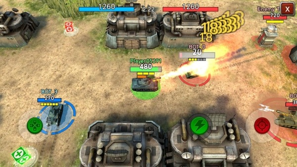Battle Tank2 Android Game Image 3