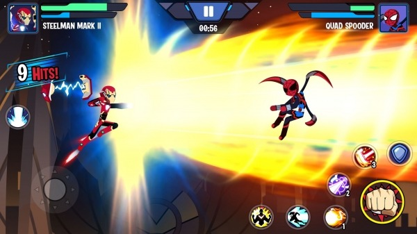 Stickman Superhero - Super Stick Heroes Fight Android Game Image 3
