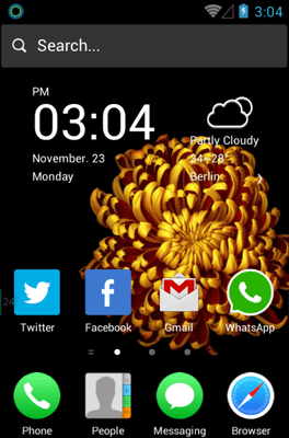 Colorful OS Pro Hola Launcher Android Theme Image 1