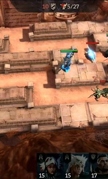 Chaos Warfare Android Game Image 1