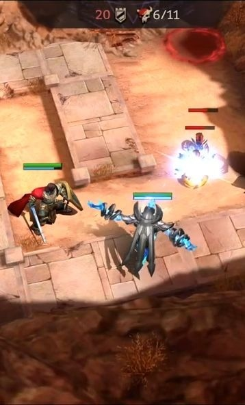 Chaos Warfare Android Game Image 2