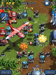 Mega Tower Assault Java Game Image 2
