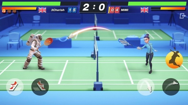 Badminton Blitz - Free PVP Online Sports Game Android Game Image 1
