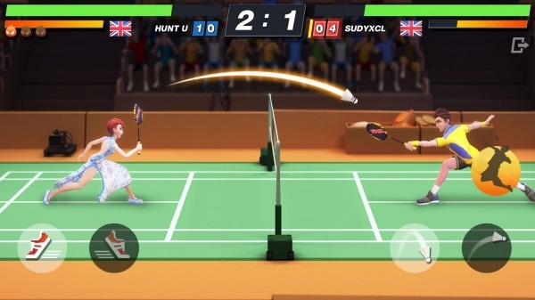 Badminton Blitz - Free PVP Online Sports Game Android Game Image 2