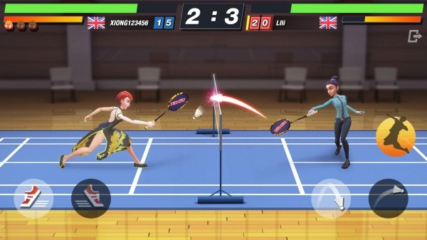 Badminton Blitz - Free PVP Online Sports Game Android Game Image 3