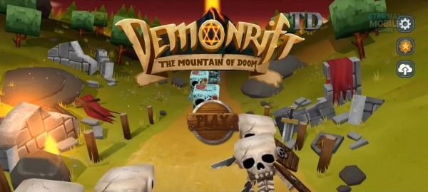 Demonrift TD - Tower Defense Game + RPG Android Game Image 1