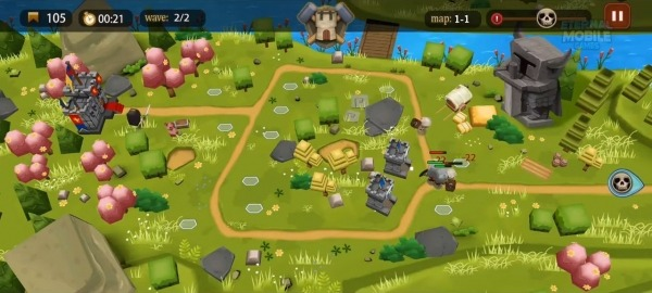Demonrift TD - Tower Defense Game + RPG Android Game Image 2