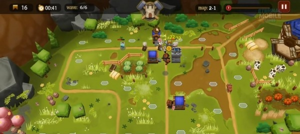 Demonrift TD - Tower Defense Game + RPG Android Game Image 3