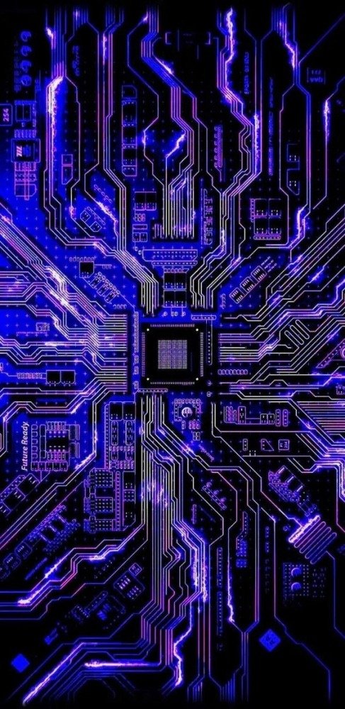 Logic Board Mobile Phone Wallpaper Image 1