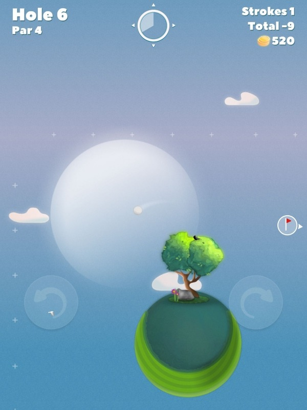 Golf Skies Android Game Image 1