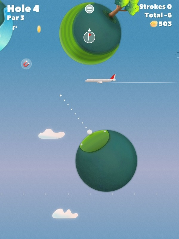 Golf Skies Android Game Image 2