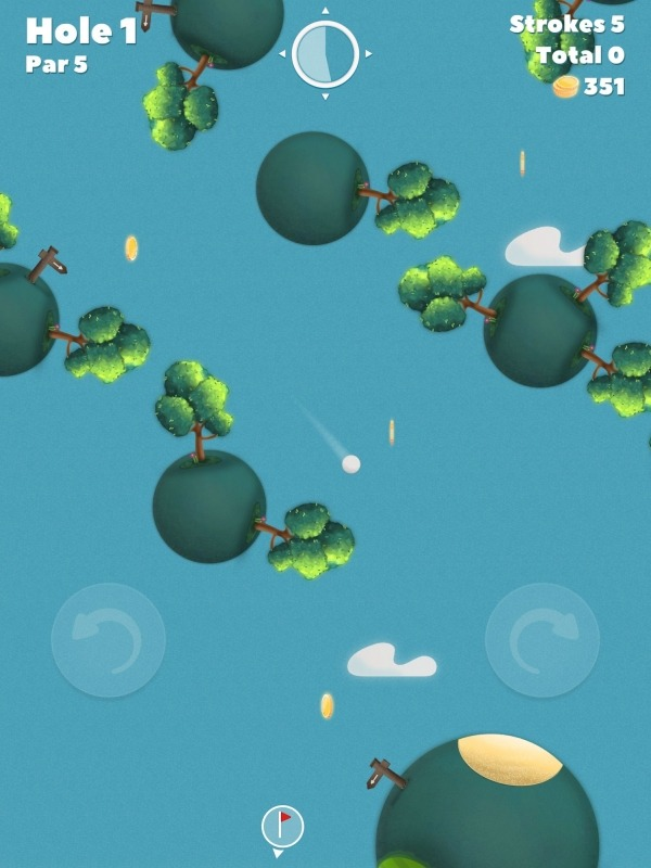 Golf Skies Android Game Image 3